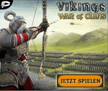 Jetzt Vikings: War of Clans kostenlos spielen. Das Strategie MMO entführt Sie in die spannende Welt der Wikinger, wo Sie sich mit tausenden Spielern messen können.