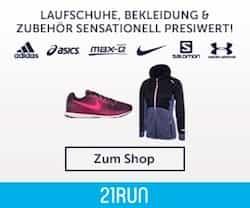 21run.com Gutscheine und Rabatt-Codes nutzen und beim Einkauf von Artikeln rund um den Laufsport immer wieder satte Prozente kassieren!