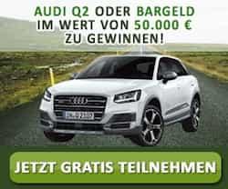 Jetzt können Sie bei einem Gewinnspiel ein neues Auto oder ganze 50.000 EUR in bar gewinnen. Einfach teilnehmen und Gewinn auswählen!