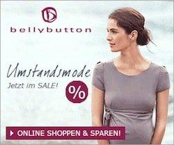 Im Shop von bellybutton finden Sie Umstandskleidung und die Ausstattung für den Nachwuchs. Schauen Sie vorbei und sparen Sie dank bellybutton Coupon Code