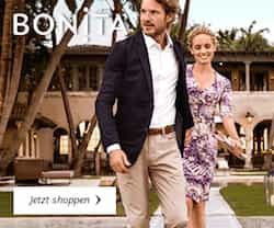 Sichern Sie sich jetzt beim Bonita Sale attraktive Rabatte auf viele Artikel aus der modischen Frühlings-Kollektion.