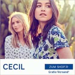 Beim Newsletter Gewinnspiel von Cecil können Sie jetzt eine Einkaufs-Flatrate im Wert von 1.200 EUR gewinnen! Wir drücken Ihnen die Daumen!