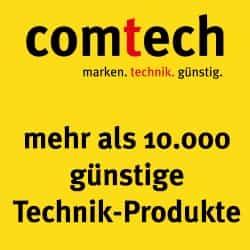Bei comtech.de kaufen Sie Computer-Technik, Unterhaltungs-Elektronik und Haushaltsgeräte. Von uns gibt es Gutscheine und Codes für den höchsten Rabatt!