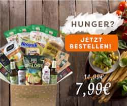 Nur jetzt und für eine kurze Zeit: entdecken Sie die aktuelle DEGUSTABOX Aktion und sparen Sie als Neukunde ganze 7 EUR und den Versand!