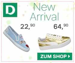 Schuhe kauft man bei Deichmann - auf der Straße wie im Internet. Alle aktuellen Angebote sowie Rabatt und Gutschein-Codes finden Sie bei kostenlos.de!