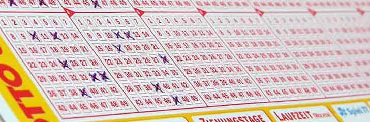 Lotto-Jackpot knacken mit KOSTENLOSEN Tippfeldern: Bis zu 84% Rabatt für Neukunden bei Lotto 6 aus 49, Euro Millions, EuroJackpot, Mega Millions und Powerball.