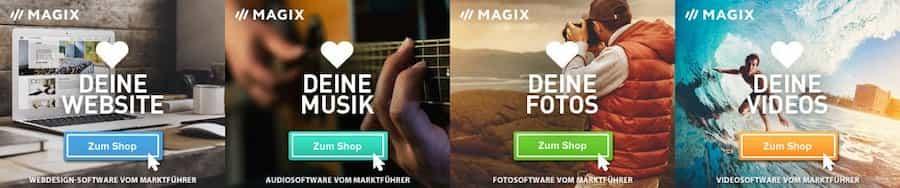 Magix bietet anwenderfreundlicheSoftware für Foto-, Video- und Musikbearbeitung. WIR bieten Ihnen Preisaktionen, Gutscheine, Rabatte und Coupon-Codes!