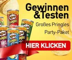Jetzt Pringles gratis testen! Einfach mitmachen und mit ein wenig Glück können Sie die leckeren Chips von Pringels ausgiebig probieren.