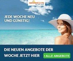 Jetzt bei dem Angebot der Woche von Sonnenklar.tv attraktive Reisen zum Top-Preis entdecken. Jede Woche warten neue Angebote auf Sie.