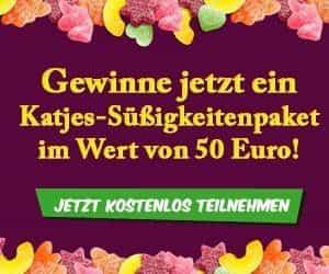 Bei der großen Süßigkeiten gewinnen-Aktion können Sie jede Menge Naschkatzen-Futter gewinnen im Wert von 50 EUR - von Lakritzen bis hin zu Fruchtgummis.