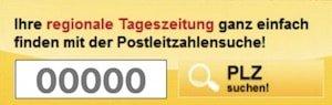 Tageszeitung KOSTENLOS lesen: Bei uns finden Sie über 430 Tageszeitungen. Einfach Postleitzahl (PLZ) eingeben und die gewünschte Publikation auswählen.