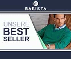 Bei Babista finden Sie nicht nur eine grosse Auswahl an hochwertiger Herrenmode, Sie können auch einen Weber Gasgrill im Wert von 1.000 EUR gewinnen!