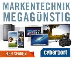 Cyberport handelt mit Computertechnik und digitaler Unterhaltungselektronik. Aktuelle Angebote sowie Rabatt + Gutschein-Codes finden Sie bei kostenlos.de!