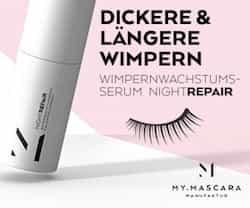 Bei MyMascara können Sie Ihr individuelles Mascara bestellen. Nutzen Sie dafür die kostenlose und unverbindliche Wimperanalyse und finden Sie heraus, was Sie brauchen!