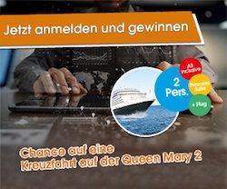 Rendite Fuchs-Gewinnspiel: Kreuzfahrt auf der Queen Mary gewinnen