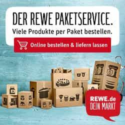 Schauen Sie einmal online bei REWE vorbei und entdecken Sie das neue REWE Angebot rund um den Liefer- und Paketservice - es lohnt sich!