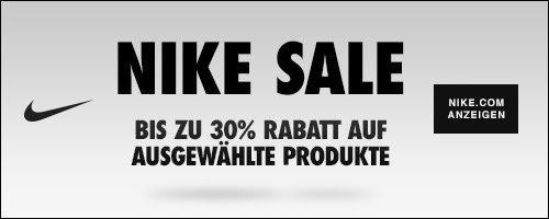 Beim aktuellen Nike Sale können Sie sich jetzt wieder auf attraktive Rabatte auf viele Artikel beim Sportartikelgiganten freuen.