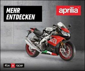 Sichern Sie sich jetzt eine kostenlose Probefahrt bei Aprilia: Viele Modelle des italienischen Spezialisten für Roller und Motorräder stehen zum Testen bereit!