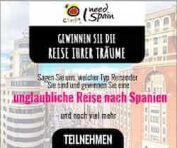 Machen Sie jetzt mit beim Turespaña Gewinnspiel, und lassen Sie sich die Gelegenheit nicht entgehen, eine exklusive und unvergessliche Reise nach Madrid und Toledo zu gewinnen.