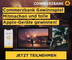 Beim grossen Summer Vibes-Gewinnspiel der Commerbank können Sie jetzt 27 Apple-Geräte gewinnen im Gesamtwert von 15.000 EUR.