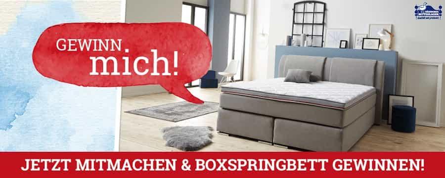 Boxspringbett dänisches bettenlager  Dänisches Bettenlager-Gewinnspiel: Boxspringbett GEWINNEN ...