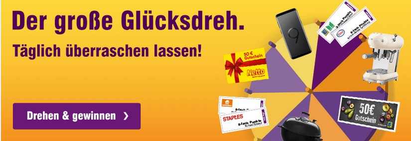 Deutschlandcard: der große Glücksdreh