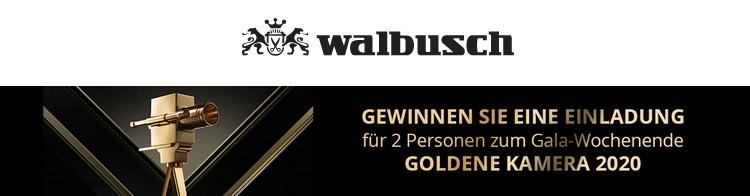 Walbusch goldene Kamera Gewinnspiel