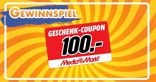 100€ MediaMarkt Gutschein gewinnen
