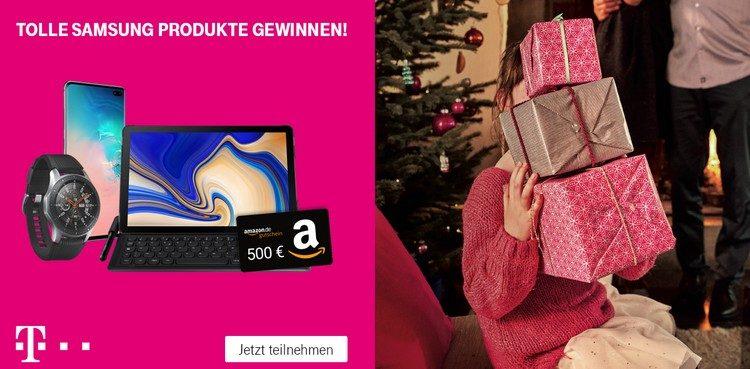 """Telekom-Gewinnspiel """"Jetzt schon an Weihnachten denken"""""""