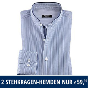100% genuine outlet online retail prices Walbusch 2 für 1 Angebot: Hemden Aktion für 59,90€