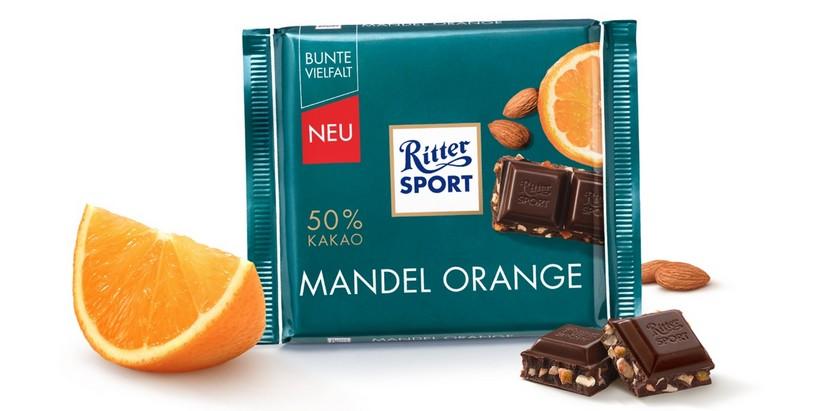 Ritter Sport Mandel Orange