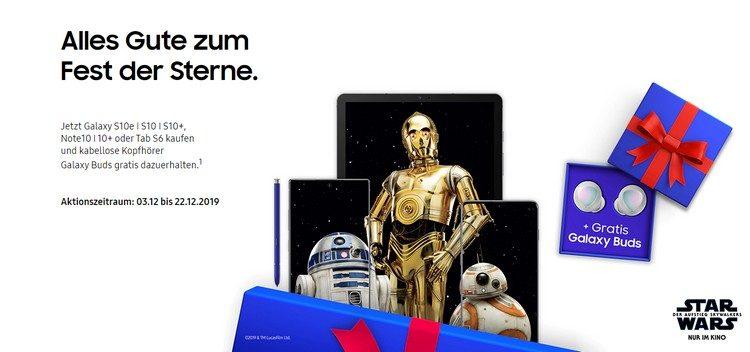 Samsung Galaxy Buds geschenkt