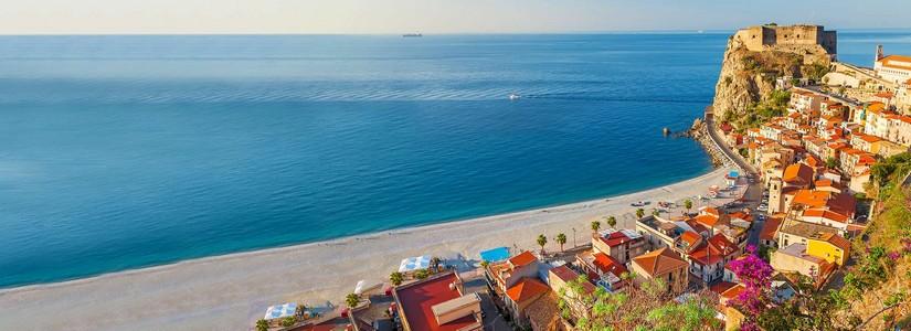Strand in Süditalien