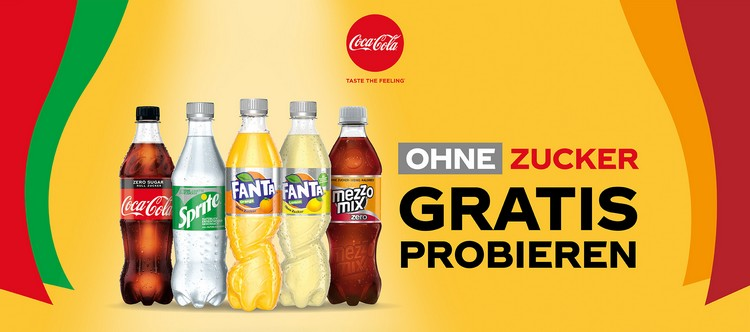 Coca Cola Zero Produkte gratis testen
