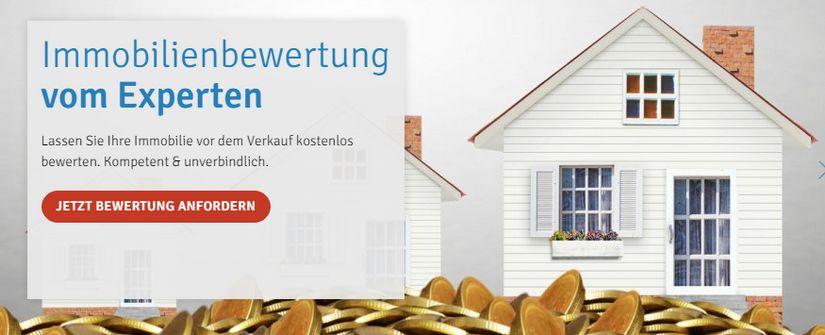 Kostenlose Immobilienbewertung von Immoverkauf24