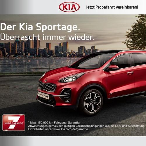 KIA Sportage Beitragsbild