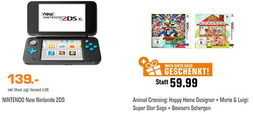 Nintendo 2DS + 2 gratis Spiele