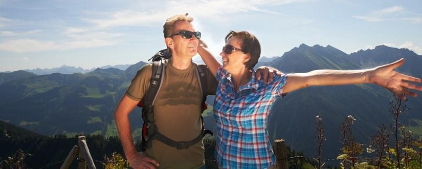 Mann und Frau in Oberstdorf