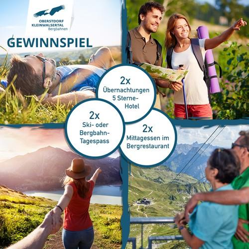Oberstdorf Kleinwalsertal Bergbahnen Gewinnspiel