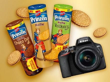 Prinzenrolle verlost eine Spiegelreflexkamera Nikon D3500