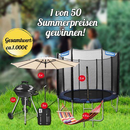 Sommergewinnspiel von Songmics