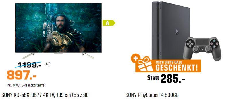 Sony Fernseher & Sony PlayStation geschenk