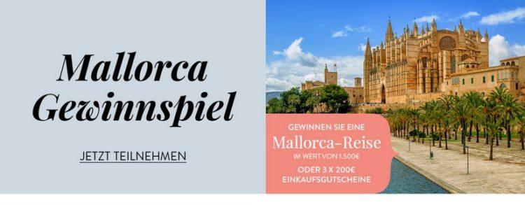 Mallorca Gewinnspiel von WENZ