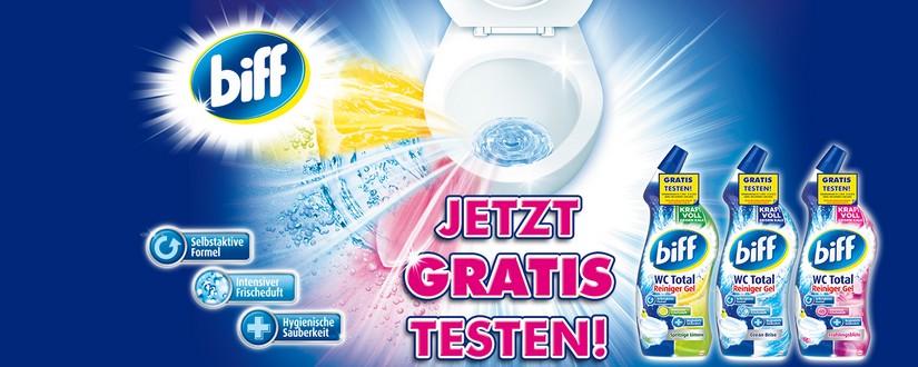 biff wc total gratis testen