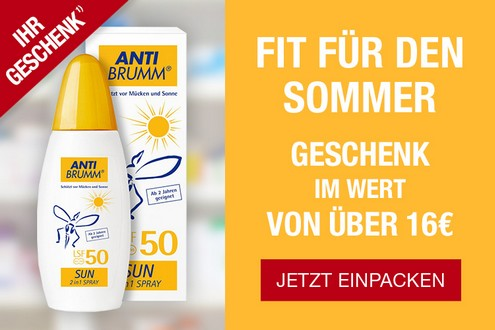 Anti-Brumm Spray gratis bei apodiscounter
