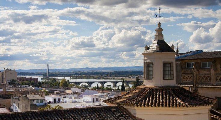 spanische Stadt badajoz
