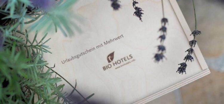 Gutschein für BioHotels