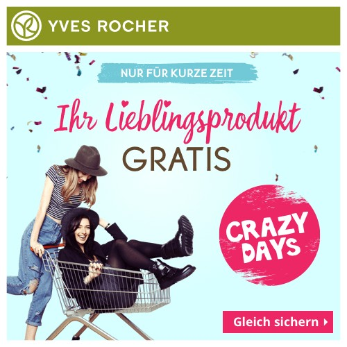 Crazy Days bei Yves Rocher