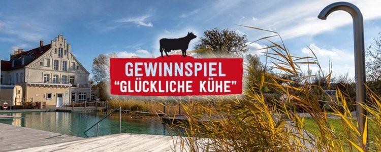 """Gewinnspiel """"Glückliche Kühe"""""""