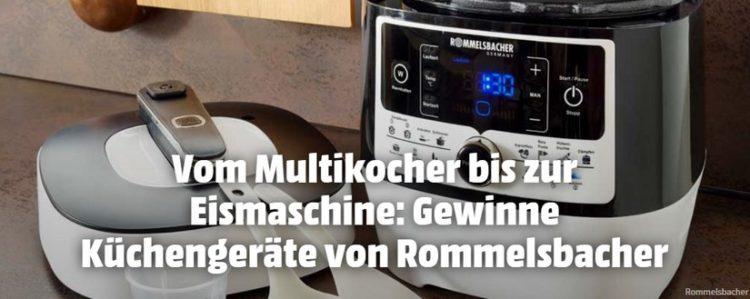 koch-mit-Gewinnspiel: Küchengeräte von Rommelsbacher gewinnen